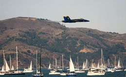 Blue Angels Air Show Royalty Free Stock Image