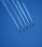 Blue Angels Air Show royalty free stock photos