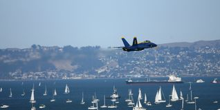 Blue Angels Air Show royalty free stock images