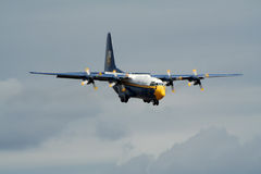 Blue Angels C-130 Stock Photo