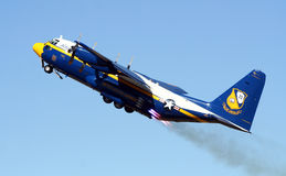 Blue Angels C-130 Fat Albert Royalty Free Stock Images
