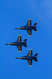 Blue Angels at the Chicago Air Show Royalty Free Stock Images