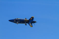 Blue Angels at the Chicago Air Show Royalty Free Stock Image