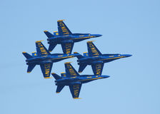 Blue Angels Diamond 1 Stock Photos