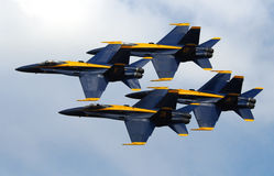 The Blue Angels, Diamond Formation Royalty Free Stock Image