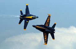The Blue Angels, Diamond Formation Royalty Free Stock Photography