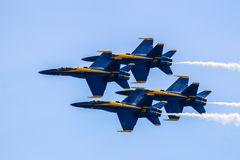 Blue Angels Dimond Stock Photography