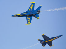 Blue Angels F18 Royalty Free Stock Photo