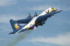 Blue Angels Fat Albert Stock Photo