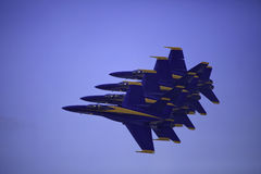 Blue Angels in flight Stock Photo