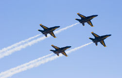 Blue Angels flying in formation Stock Photography