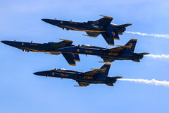 Blue Angels Formation Royalty Free Stock Image
