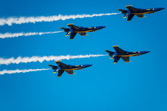Blue Angels Hanging Out Royalty Free Stock Photo
