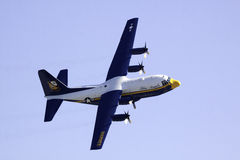 Blue Angels Hercules Stock Photography