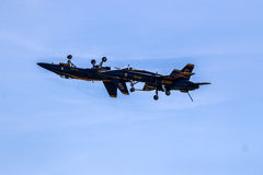 Blue Angels One on One Royalty Free Stock Photography