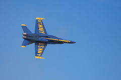 Blue angels precision flight Royalty Free Stock Photo