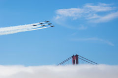 Blue Angels Stock Image