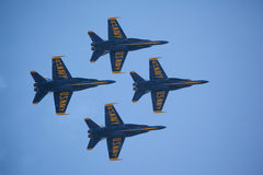 The Blue Angels at Seafair Stock Image