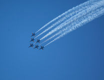 The Blue Angels at Seafair Royalty Free Stock Photography
