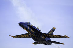 Blue Angels Solo stock photo