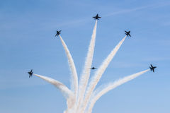 Blue Angels Star Royalty Free Stock Photos