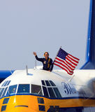 Blue Angels support team Royalty Free Stock Photography