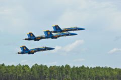 Blue Angels taking off. Blue Angels air show Pensacola, Fl NAS Stock Photo