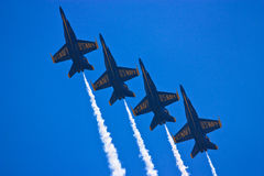 Blue Angels, Teamwork Stock Photo