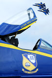Blue Angels then and now Royalty Free Stock Image