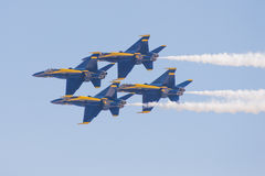 The Blue Angels Royalty Free Stock Photos