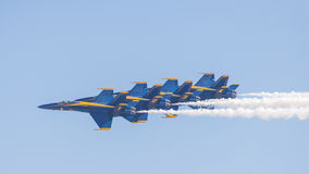 The Blue Angels Royalty Free Stock Images