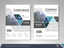 Business brochure design template Royalty Free Stock Image