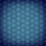 Blue antique old wallpaper Royalty Free Stock Photo