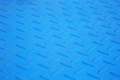 Blue antiskid industry floor Stock Image