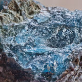 Blue apatite Stock Photo