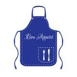 Blue apron Royalty Free Stock Photos
