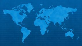 Blue, Aqua, World, Earth Royalty Free Stock Photography