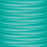 Blue aquatic turquoise wavy background Royalty Free Stock Image