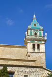 Blue arabic Majorca tower Stock Images