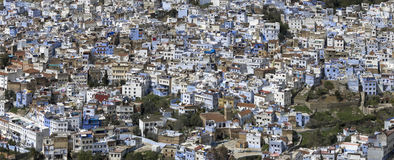 Blue architecture of Chefchaouen Stock Photo