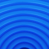 Blue arcs Stock Photography