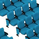 Blue armchair Stock Photos