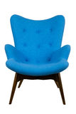 Blue armchair Stock Photo