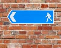 Blue arrow Royalty Free Stock Image