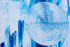 Blue art background stock illustration