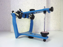 Blue articulator Stock Images