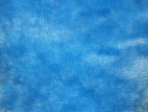 Blue artificial fur Stock Images