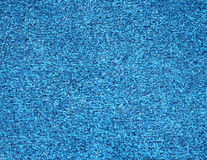Blue artificial grass for miniature golfing Royalty Free Stock Photo