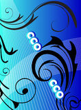 Blue Artwork Stock Photography