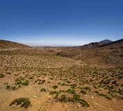 Blue Atlas. Landscape view of the High Atlas, Morocco Stock Photography